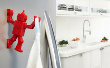 Home Design Gifts Funky Robot Key Hanger Hook Magnet & kitchen Tools Towels