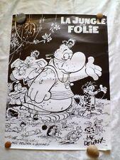Affiche La Jungle en folie Mic Delinx et Godard