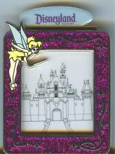 DLR It's Magic with Tinker Bell and Sleeping Beauty's Castle in Frame Pin