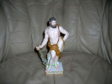 CLEARANCE SALE!  RARE EARLY ANTIQUE 1840 HERCULES MEISSEN FIGURINE 8X5X3 MINT
