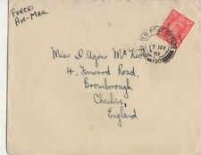 Field Post Office 190 Postmark Forces Mail Cover to McKeown Bromborough 445b