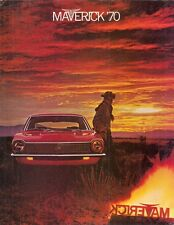 Ford Maverick 1970 USA Market Foldout Sales Brochure
