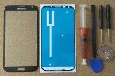 Samsung Galaxy Note 2 N7100 Black Front Glass Lens Repair Screen Replacement