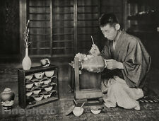 1929 JAPAN Original Photo Gravure PAINTING POTTERY ARTIST China Art H.G. PONTING