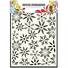 Dutch Doobadoo A5 Template Stencil Mask - Chicken Wire - Grunge Background
