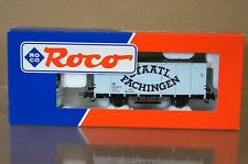 ROCO 46996 STAATL FACHINGEN GÜTERWAGEN CLOSED GOODS WAGON MIB nb