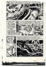 JACK KIRBY CAPTAIN VICTORY #12 ORIGINAL COMIC PROOF PAGE PRODUCTION ART KRACKLE!