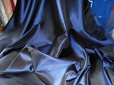 1; MTR NAVY BLUE TAFFETA 58; INCHES WIDE