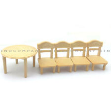 Xmas Gift Sylvanian Families Toys Table & Chair dining room Furniture Dollhouse