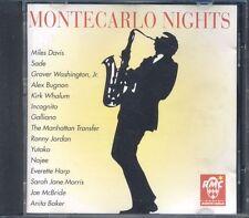 Montecarlo Nights Vol. 1 Miles Davis/Sade/Incognito/Galliano Cd Perfetto