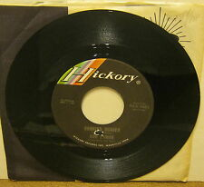 Running Scared BOB LUMAN 45 Phonograph Record HICKORY LABEL