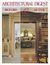 ARCHITECTURAL DIGEST February 1998 -- Annual Before & After Issue