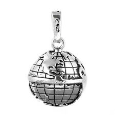 Globe World Map Angel Caller Harmony Ball Pendant Chime Bell Mexian Bola 20mm