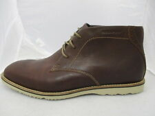 Rockport Chukka Da Uomo Stivali Marrone Uk 11 US 11.5 EUR 46 RIF. 930 *