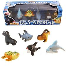 Baby Sea Animals Playset Soft Touch Figures