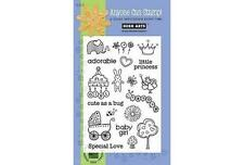 Hero Arts Poly Clear Stamps - Precious Baby Girl CL265  #1247