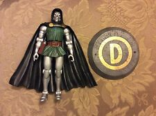 Marvel Legends fantastic four 4 box set Dr. Doom loose variant Burned face base