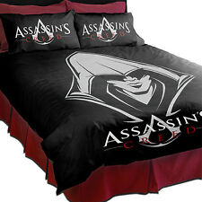 ASSASSINS CREED UNITY Double Bed Quilt Cover Pillow Cases Set Christmas Gift