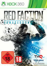xBox360 xBox 360 Microsoft * Red Faction Armageddon * Anleitung * OVP