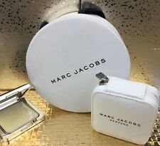Marc Jacobs Solid Perfume Parfum Compact with Case Brand New, Gift Set Hat Box