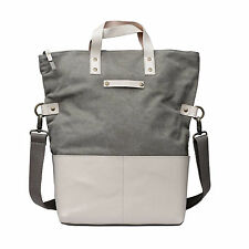 Kelly Moore Collins Bag (Sand Canvas/Bone Trim) *NEW*