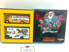 Corgi York Fair Set / Bedford OB Coach / Bedford Luton Pantechnicon 1:50