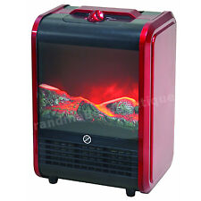 Portable Ceramic Heater Electric Mini Office RV Personal Fireplace Room Space