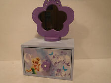 Disney Fairies Girls Jewelry Box F.A.B. Starpoint New York #97208 Collectible