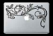"Flower Design Decal Sticker for Apple Mac Book Air/Pro Dell Laptop 13"" 15"""