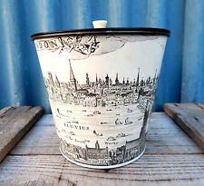 Gorgeous Vintage Biscuit  Chocolates Storage Tin - Claes Jansz Visscher London