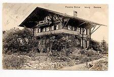 SUISSE SWITZERLAND canton BERNE Bern FLORAIRE CHENE BOURG chalet de mr Correvon