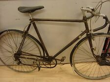 Cliff Pratt Reynolds? project racer steel 59cm frame Spring bank Hull 1940?