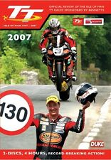 Isle of Man TT - Official Review 2007 (New 2 DVD Set) McGuinness Anstey
