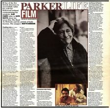 4/2/95PGN23 ARTICLE & PICTURES MOVIE/FILM DIRECTOR ALAN PARKER