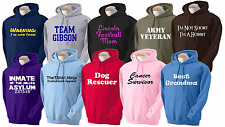 Personalized Hoodie - Your Text or Design