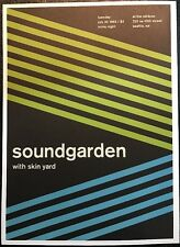 "Sound Garden,Jodie Foster's Army. 2 Sided Punk /Rock Mini Poster Art 14x10"",R163"