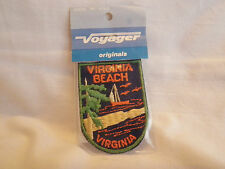 NEW Voyager Souvenir Patch from VIRGINIA BEACH, VIRGINIA in Unopened package