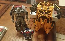 Transformers Age of Extinction Mega 1-Step Bumblebee Figure A7799 +2 bonus figs