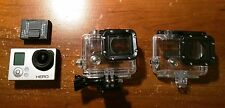 GoPro HERO 3 Silver with extra special skeleton case and new 32gb micro SD card