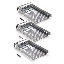 3PCS 3.5 SAS Drive Tray Caddy Sled G302D T710 F238F R710 T610 Hard Disk for Dell