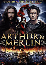 Arthur  Merlin (DVD, 2016) Movie Magic Knights Druids And Wizards Swords Quest