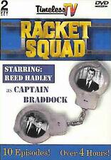 RACKET SQUAD TV SERIES (1951-1953) 10 EPISODES ON 2 DVD SET - NEW & SEALED
