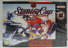 NHL STANLEY CUP - SNES SUPER NINTENDO NTSC USA VERSION BOXED