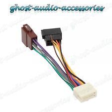 Clarion 16 PINES auto estéreo RADIO mazo de cables ISO Conector Adaptador Cable del telar