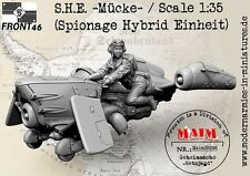 S.H.E. ~Macke~ / 1/35 Scale resin model kit  (Spionage Hybrid Einheit)