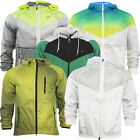 Nike Mens Zip Up Hooded Breathable Lightweight Windrunner Jackets WH