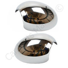 BMW MINI 2006-2013 CHROME CUP WING MIRROR GLASS COVERS
