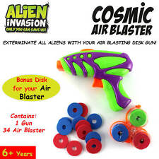 Alien Cosmic Air Blaster Toy For Growing Adventurous Children With Air Disc
