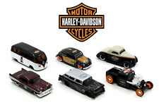 Maisto 1:64 Harley Davidson Custom Cars Wave 1 Assortment Diecast Car Set