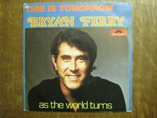 BRYAN FERRY 45 TOURS BELGIQUE THIS IS TOMORROW